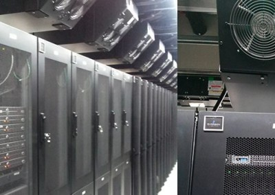 cabinets and high density cooling units